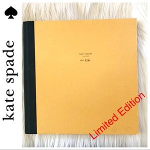 Kate Spade Limited Edition book Numbered! Contents